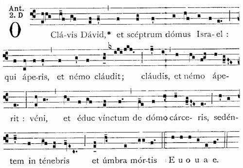 20 Dec O Clavis David