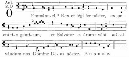 23 Dec O Emmanuel