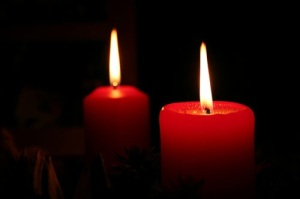 Advent candle 2