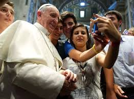Francis2selfie