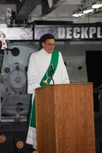 Gospel on USS Reagan 2009
