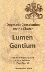 Lumen Gentium Cover