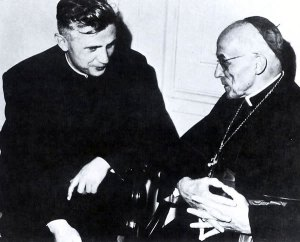 Ratzinger with Frings