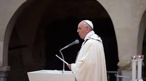 Francis preaching 3