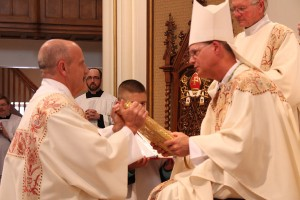 Deacon and Book of Gospels