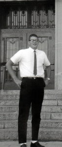 At Salvatorian Seminary, 1966