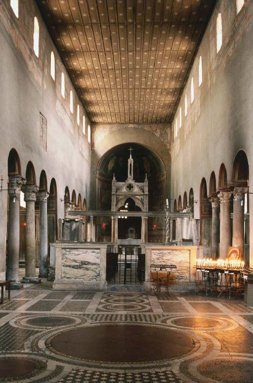 Санта мария ин космедин базилика в риме