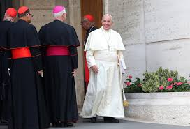 Pope at Synod
