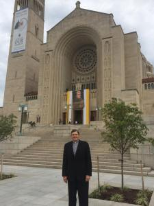 In front of Basilica