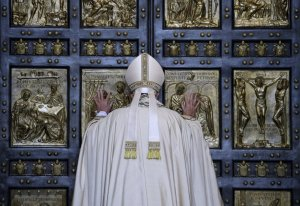 Pope at Holy Door