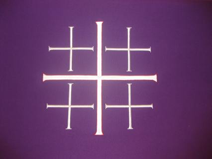 Lenten Jerusalem Cross