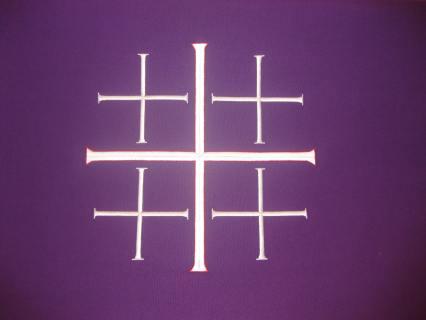 Lenten Jerusalem Cross