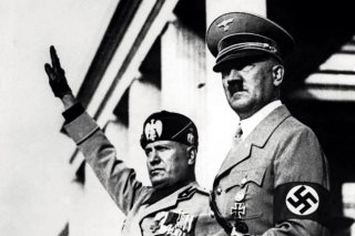 Hitler-Mussolini-Neo-Fascists