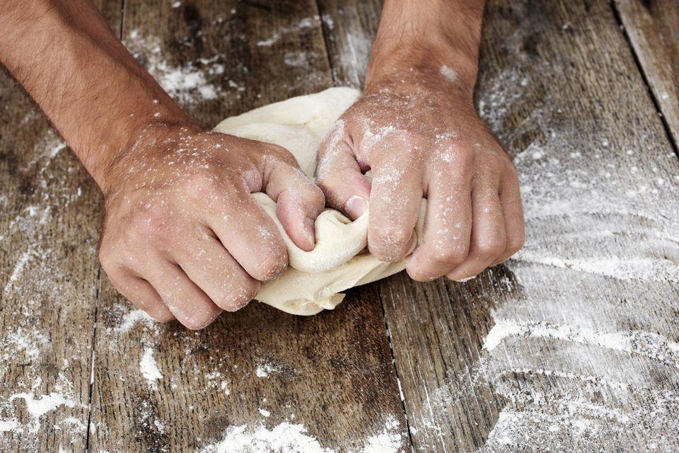 kneading-dough