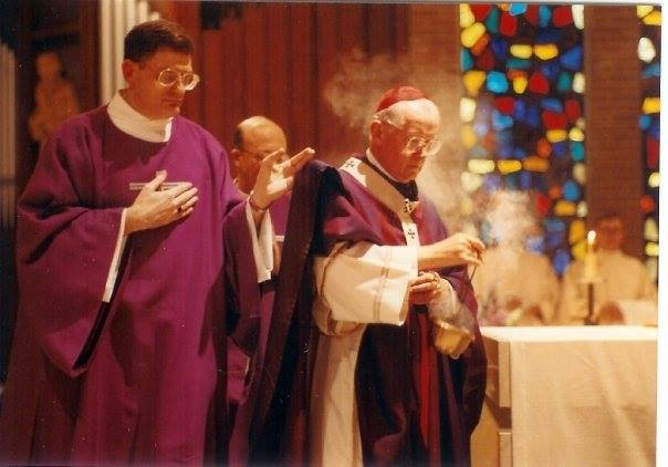 Incensation at Ordination
